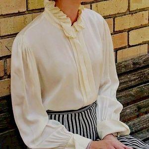 ULTIMATE Vintage RALPH LAUREN Victorian Blouse Top